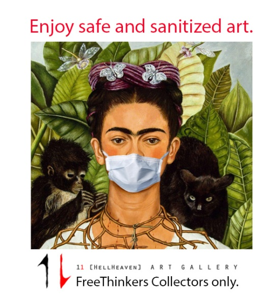 frida in mask